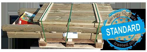 Pallet Standaard hout